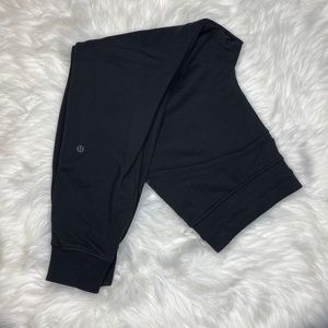 Lululemon Black Warm Down Jogger Sweatpants 10